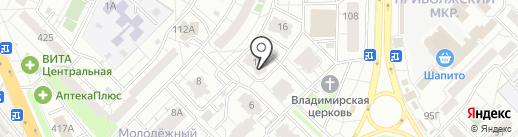 Печати5 на карте Самары