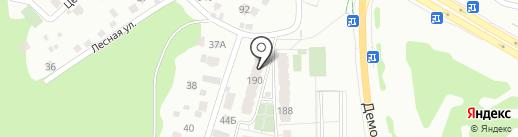 Лесная крепость на карте Самары