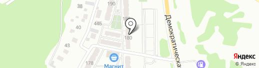 Соло на карте Самары