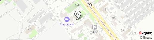 СтройПроектЛогистик на карте Самары