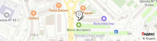 Адвокат Синельников А.Е. на карте Самары