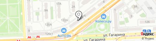 Добрая индюшка на карте Самары