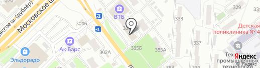 Сеал на карте Самары