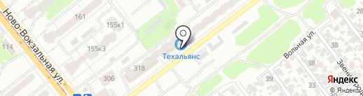 Техальянс на карте Самары