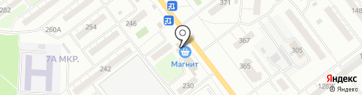 Матрешка на карте Самары