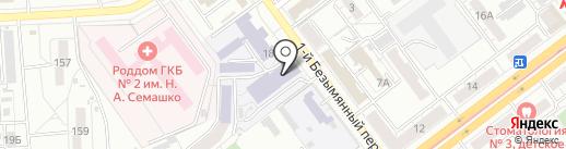 Самарский государственный университет путей сообщения на карте Самары