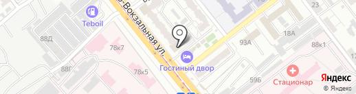 Горсвет на карте Самары