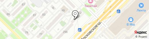 АСК Пионер на карте Самары