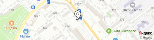 Самоделкино на карте Самары