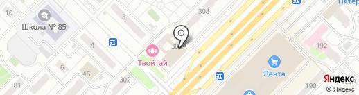 Волгаэлектросбыт на карте Самары