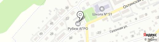 Рубеж-Агро на карте Самары