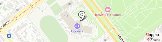 Ракета на карте Самары