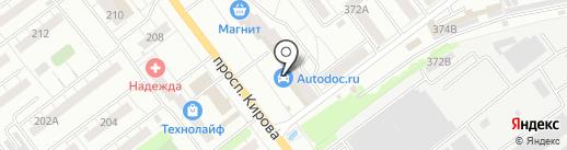 Уральский фермер на карте Самары