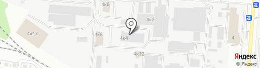 ФОРТКАМ на карте Самары