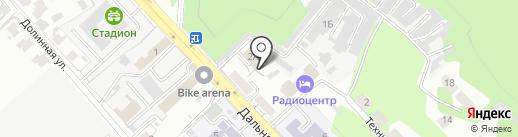ЭРА. Связь. Монтаж на карте Самары