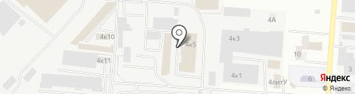 Крошкин дом на карте Самары