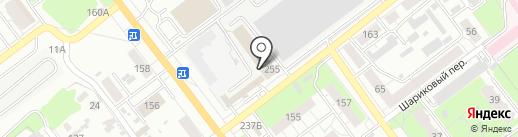 Abada-Capoeira на карте Самары