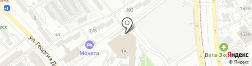 Магазин женской одежды на карте Самары