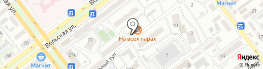 Фирменный магазин на карте Самары