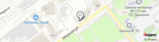 АГЕНТСТВО ТЕХНИЧЕСКОГО ПЕРСОНАЛА на карте Самары