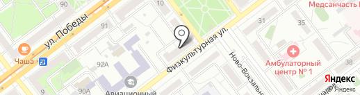 Мастерская по ремонту компьютеров и мобильных телефонов на карте Самары