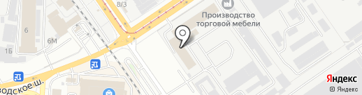 Самарские мебельные мастерские на карте Самары