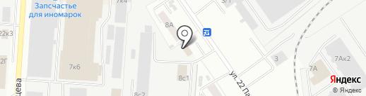 УТК-Сталь на карте Самары