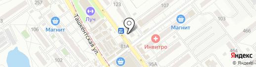 Ломбард Ленинградский на карте Самары