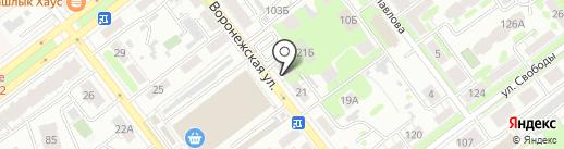 Ганимед СБ на карте Самары