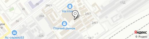 Заточка63 на карте Самары