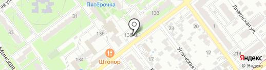 Барс на карте Самары