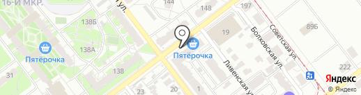 Апрель на карте Самары