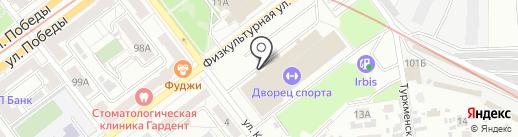 ПрофиCпорт на карте Самары