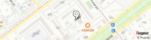 Строитель-1 на карте Самары