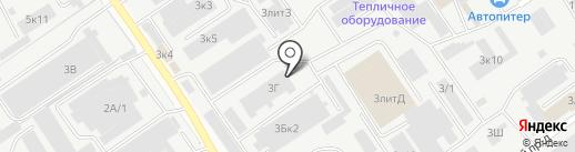 Технобурсервис, ЗАО на карте Самары