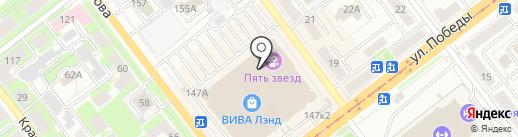 McDonald`s на карте Самары