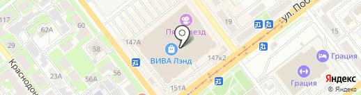 Pit-stop на карте Самары