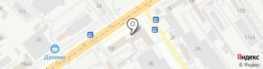 Компания на карте Самары