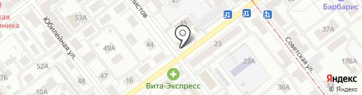 Демос на карте Самары