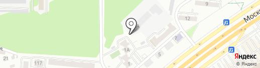 На Московском на карте Самары