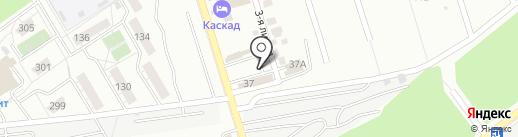 Теплицы-Самара на карте Самары