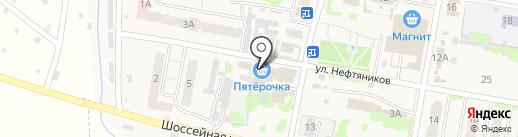 Пятерочка на карте Мирного
