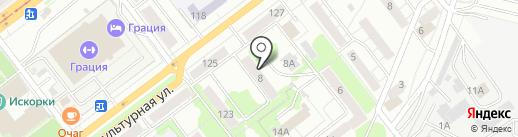Абрау на карте Самары