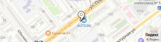 Меховое ателье Владимира Фролова на карте Самары