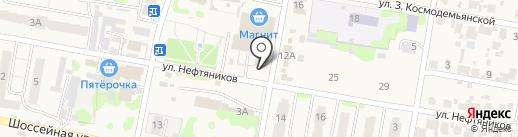 Бюро ритуальных услуг на карте Мирного