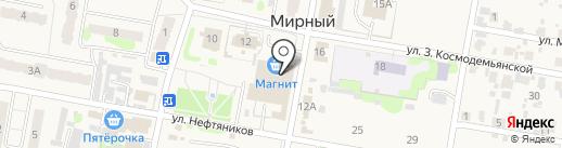 Автомотошкола, ЧОУ ДПО на карте Мирного