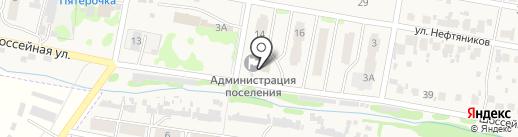 Поволжский банк Сбербанка России на карте Мирного