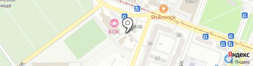 Киоск фастфудной продукции на карте Самары