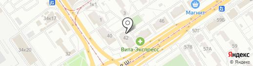 Находка на карте Самары