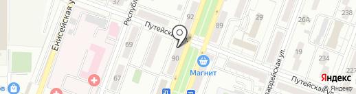 Билайн на карте Самары